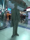 Lace Man at Dubai Airport