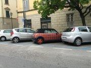 Perhaps a tartan car...