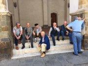 Italian men doing what Italian men do...