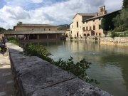Roman baths in Bagno Vignoni