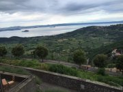 Can still see Lake Bolsensa from Montefaliscone