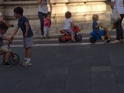 Kids at play in Sutri square